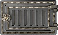 Дверца печная Везувий Поддувальная ДП-2 (бронза) -