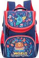 Школьный рюкзак Grizzly RA-773-2 (темно-синий) -
