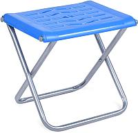 Табурет складной Ника С пластиковым сиденьем / ПСП4 (голубой) -