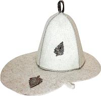 Набор текстиля для бани СаунаКомплект Б1601 -