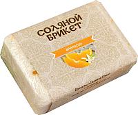 Соляной брикет для бани Соляная баня С цедрой апельсина -
