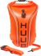 Буй для плавания Huub Safety Tow Float Fluo / A2-TF (оранжевый) -