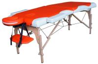 Массажный стол DFC Nirvana Relax / TS2021D-OC (оранжевый/кремовый) -