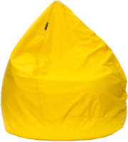 Бескаркасное кресло BomBom Грета S (60x100, желтый) -