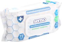 Влажные салфетки Senso Baby Антибактериальные  (72шт) -