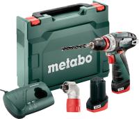 Профессиональная дрель-шуруповерт Metabo PowerMaxx BS Quick 12В (600156950) -