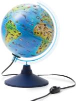 Глобус интерактивный Globen Зоогеографический с подсветкой / INT12100296 -
