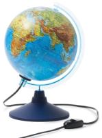Глобус интерактивный Globen Физико-политический с подсветкой / INT12100298 -