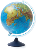 Глобус интерактивный Globen Физико-политический с подсветкой / INT13200289 -