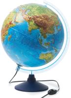 Глобус Globen Физико-политический рельефный с подсветкой / INT13200290 -
