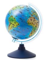 Глобус Globen Зоогеографический с подсветкой / Ве012100249 -