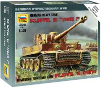Сборная модель Звезда Немецкий тяжелый танк Тигр / 6256 -