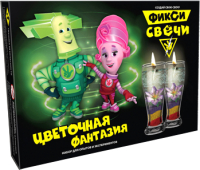 Набор для изготовления свечей Инновации для детей Фикси. Цветочная фантазия / 738 -