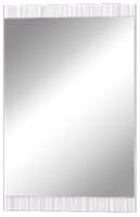 Зеркало MLK Мишель 900x600 (венге/белый страйп) -