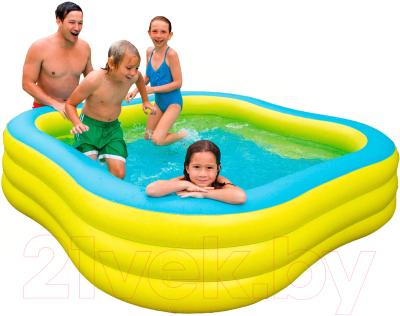 Надувной бассейн Intex Swim Center 57495NP (229x56)