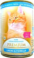 Корм для кошек My Happy Pets С лососем и форелью (415г) -