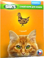 Корм для кошек Bak's С курицей (10кг) -