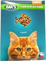 Корм для кошек Bak's С рыбой (10кг) -
