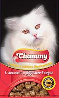 Корм для кошек Chammy С лососем и форелью (85г) -