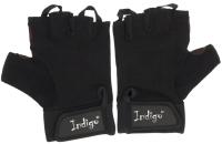 Перчатки для пауэрлифтинга Indigo SB-16-1575 (XL, черный) -
