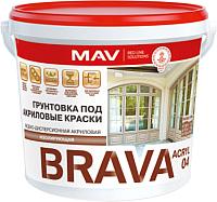 Грунтовка MAV Brava ВД-АК-04 (1л, белый) -