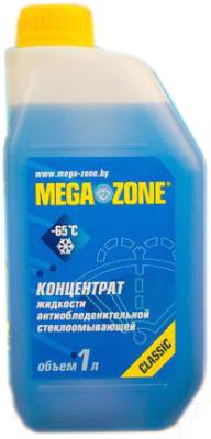 Жидкость стеклоомывающая MegaZone Зима -65 концентрат / 9000003 (1л)