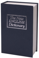 Книга-сейф Brauberg Английский словарь / 290460 (темно-синий) -