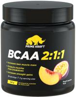Аминокислоты BCAA Prime Kraft 2:1:1 персик-маракуйя (150г) -