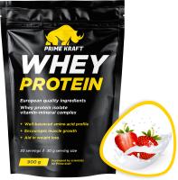 Протеин Prime Kraft Whey Клубничный йогурт (900г) -