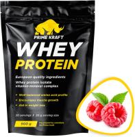 Протеин Prime Kraft Whey Малина (900г) -