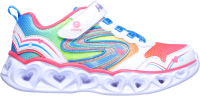 Кроссовки детские Skechers 20294L-WMLT / 0MWID4WUDP (р.2.5, белый/мультицвет) -