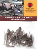 Набор фигурок Биплант Японская пехота / 12018 -