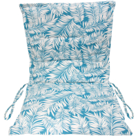 Подушка для садовой мебели Эскар Sky Palma 50х100 / 125062100 (белый/голубой) -