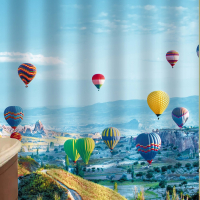 Шторка-занавеска для ванны Brimix Воздушные шары 02-22 -