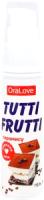 Лубрикант-гель Bioritm Tutti-Frutti тирамису / 30015 (30г) -