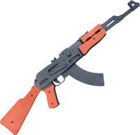 Автомат игрушечный Arma.toys Резинкострел «АК-47» / АТ006К (окрашенный) -