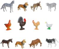 Набор фигурок Bondibon Ребятам о зверятах. Домашние животные и птицы / ВВ1633 -