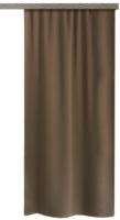 Штора Этель Матовый блэкаут 4881575 (135x260, коричневый) -