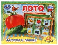Лото Умные игры Фрукты и овощи / 4690590101223 -