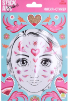 Маска-стикер для лица Stick and Smile Фея любви / 12317 -