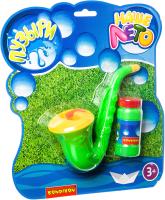 Набор мыльных пузырей Bondibon Наше Лето. Саксофон с мыльными пузырями / ВВ2790 -