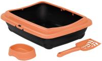 Туалет-лоток Duvo Plus Аладдин 12958/DV (оранжевый) -
