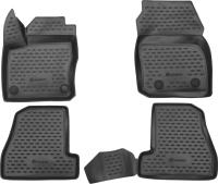 Комплект ковриков для авто ELEMENT ELEMENT3D1671210K для Ford Focus 3 (4шт) -
