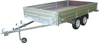 Прицеп для автомобиля Вектор ЛАВ 81013С (3555x2000x400, двухосный, высокий борт) -