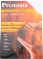 Обложки для переплета Office Kit A4 кожа / CWA400230 (100шт, белый) -