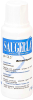 Мыло жидкое для интимной гигиены Saugella Dermoliquido (250мл) -