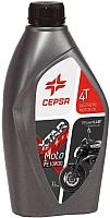 Моторное масло Cepsa Xtar Moto 4T FE 10W30 / 514274187 (1л) -