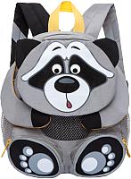 Детский рюкзак Grizzly RS-898-2 (енот) -