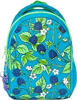 Школьный рюкзак Grizzly RD-832-2 (голубой) -
