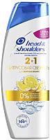 Шампунь для волос Head & Shoulders Цитрусовая свежесть против перхоти 2 в 1 (400мл) -
